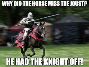 Knight Pun