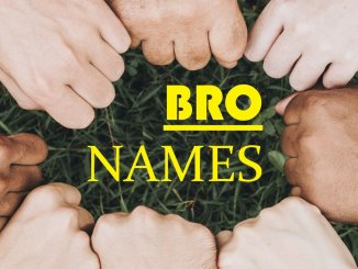 Fist Bump Bro Names Feature