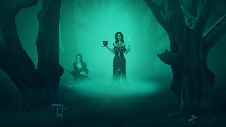 Druidesses in Ritual