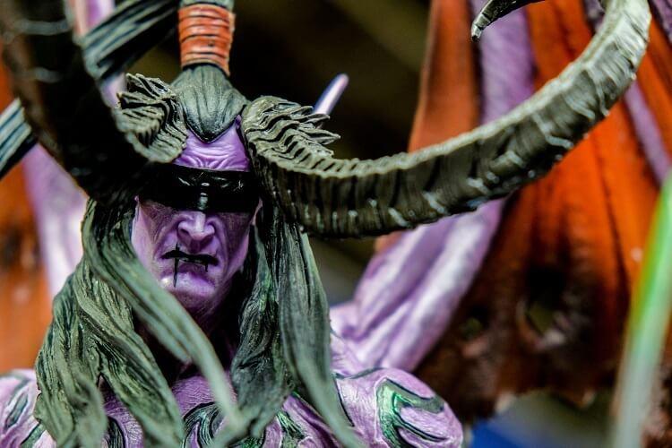 Illidan Stormrage Night Elf