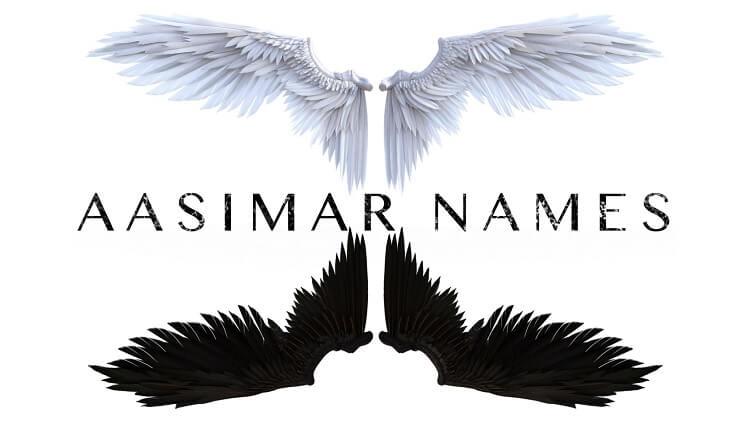 Aasimar Names Protector Fallen