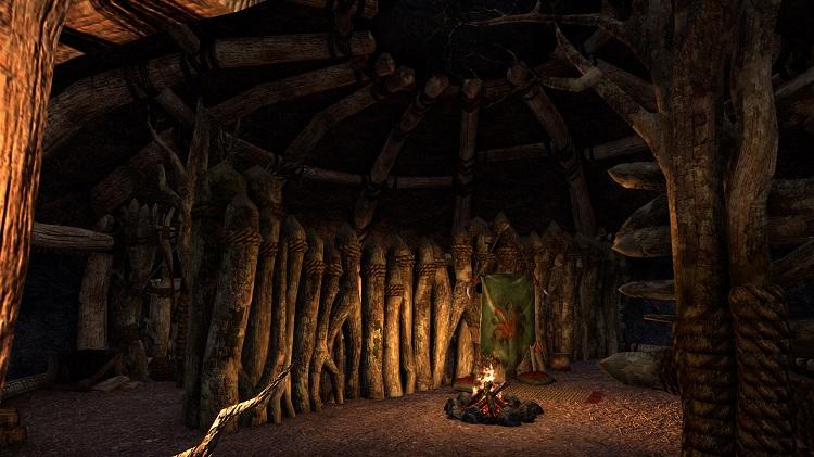 Argonian Hut Interior Elder Scrolls Online