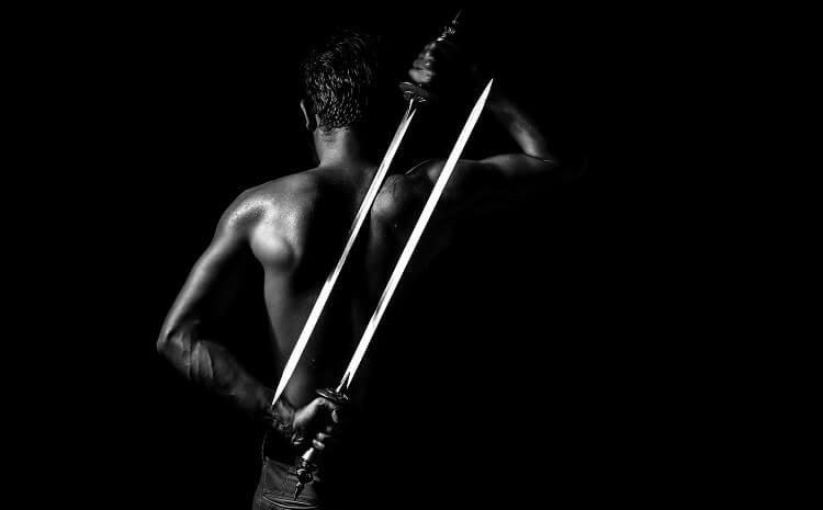 Dual-wield Sword Behind Back
