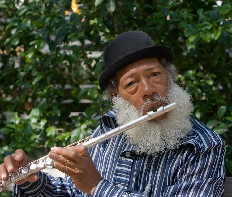 Male Bard Flute