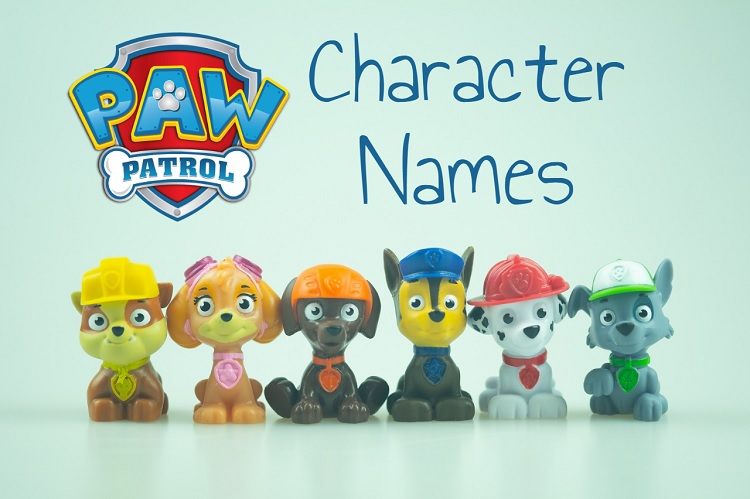 Paw Patrol Names