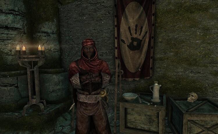 Redguard Male Inside