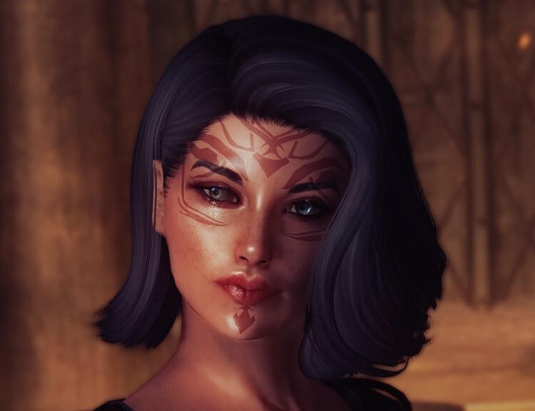 Redguard Mod Female Pretty