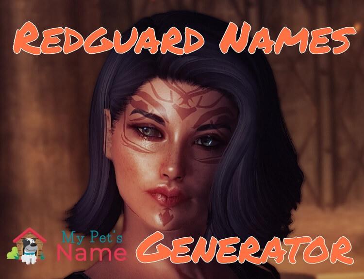 Redguard Names