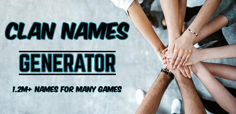 1.2M Clan Names Generator