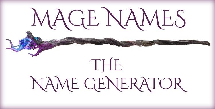 Mage Names Generator