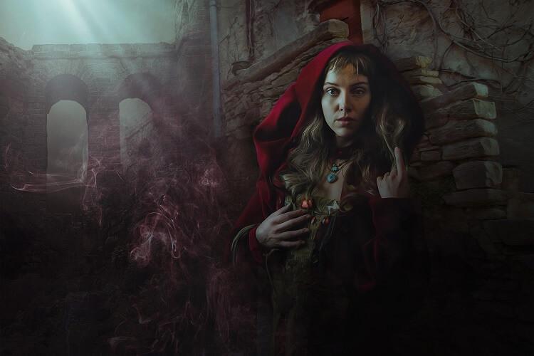 Morgan Le Fay Sorceress