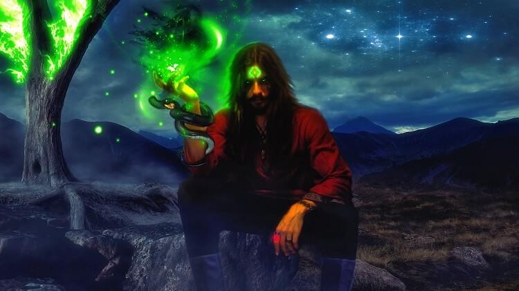 Necromancer Evil Wizard