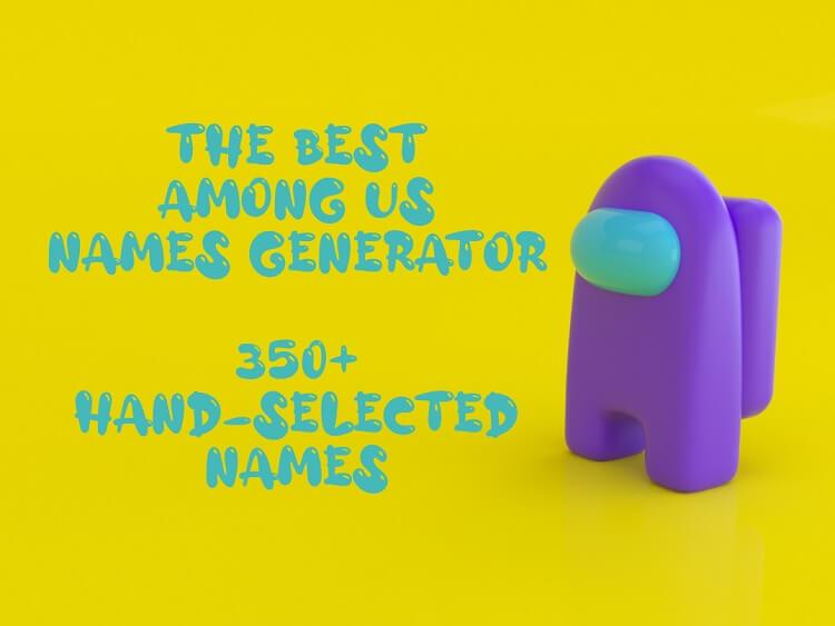 Best Among Us Names Yellow
