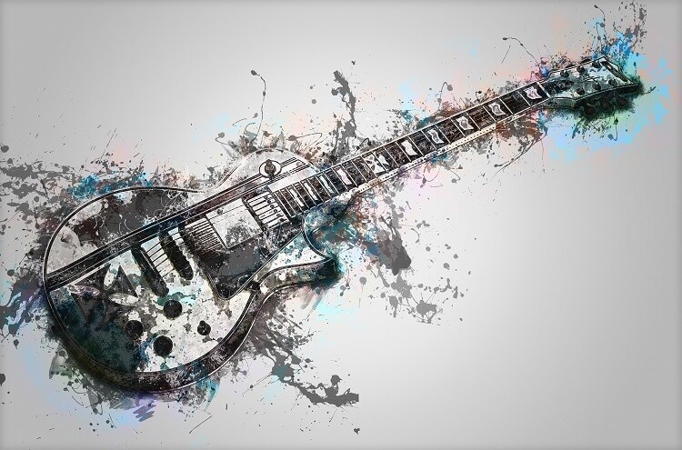 Creative Playlist Names Splash Guitar