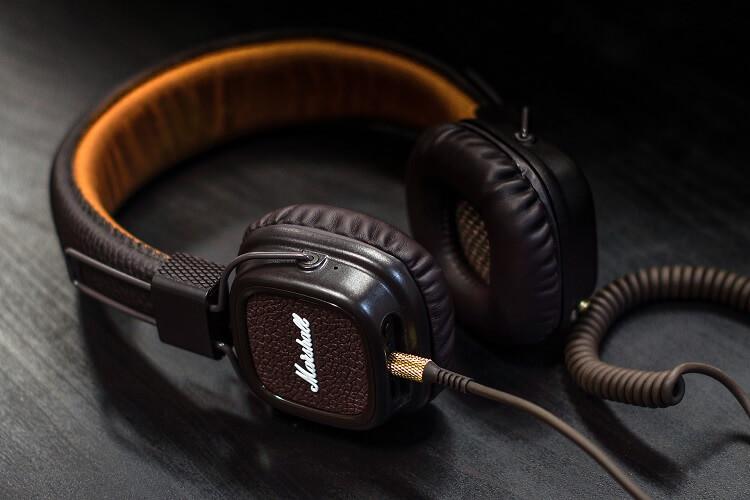 Rock on Marshall Headphones